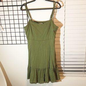 Old Navy | Flowy Green Dress